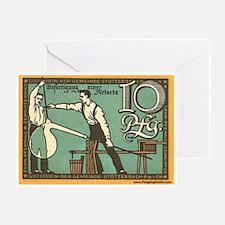 Vintage Hot Shop Greeting Card