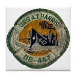 USS ALBERT T. HARRIS Tile Coaster