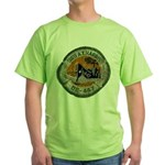 USS ALBERT T. HARRIS Green T-Shirt