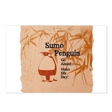 Sumo Penguin Postcards (Package of 8)