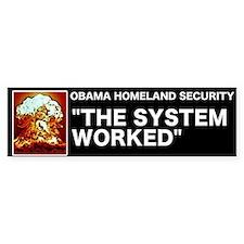 Obama Homeland Security Bumper Bumper Sticker