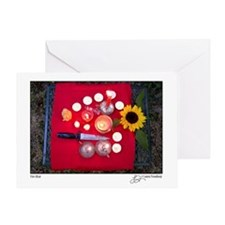 Fire Altar Greeting Card