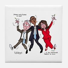 A Big Hangover Awaits in 2010 Tile Coaster