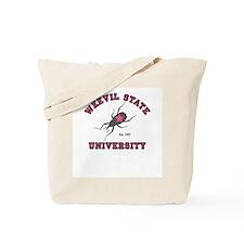 Weevil State University Tote Bag