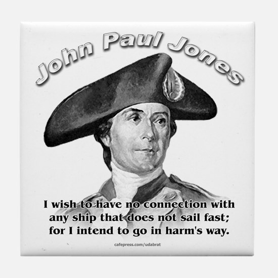 John Paul Jones 01 Tile Coaster