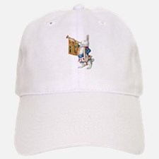 ALICE'S WHITE RABBIT Baseball Baseball Cap