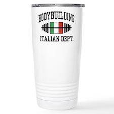 Italian Bodybuilding Travel Mug