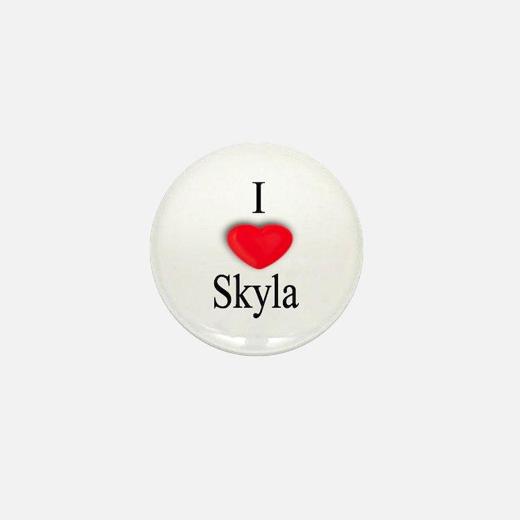 Skyla Mini Button