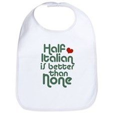 Half Italian Bib