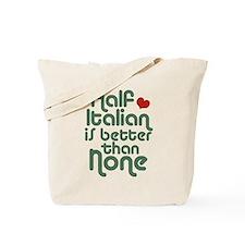 Half Italian Tote Bag
