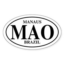 MAO Manaus Oval Decal