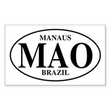 MAO Manaus Rectangle Decal