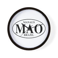 MAO Manaus Wall Clock
