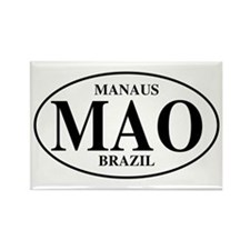 MAO Manaus Rectangle Magnet