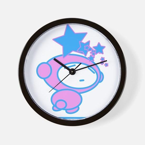 Star Fever Delight Wall Clock