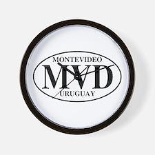 MVD Montevideo Wall Clock