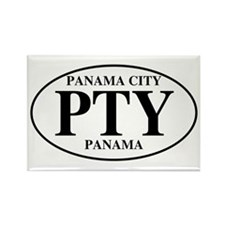 PTY Panama City Rectangle Magnet