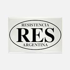 RES Resistencia Rectangle Magnet