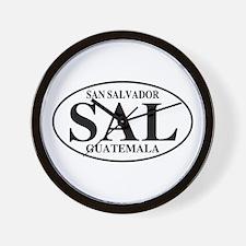 SAL San Salvador Wall Clock