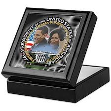 Obamas - Keepsake Box