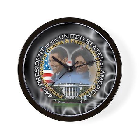 Obamas - Wall Clock