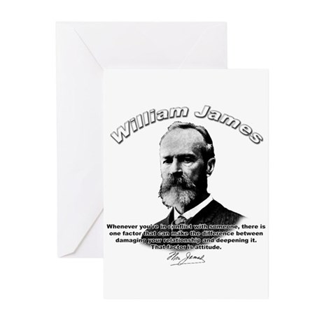 William James 02 Greeting Cards (Pk of 10)