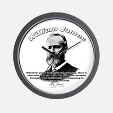 William James 02 Wall Clock