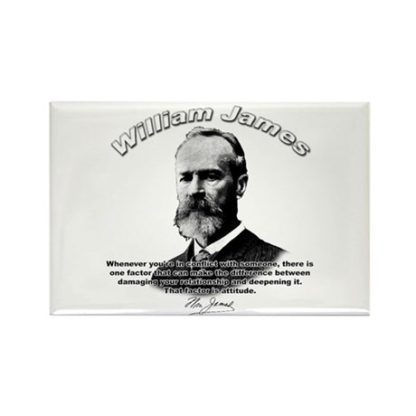 William James 02 Rectangle Magnet (10 pack)