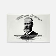 William James 02 Rectangle Magnet