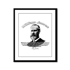 William James 02 Framed Panel Print