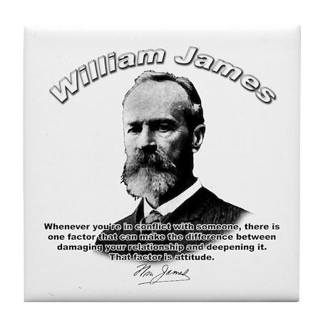 William James 02 Tile Coaster