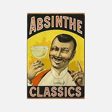 Absinthe Classics Rectangle Magnet