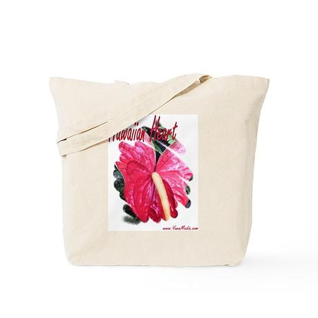 Anthurium Hawaiian Valentine Tote Bag