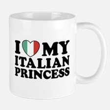 I Love My Italian Princess Mug
