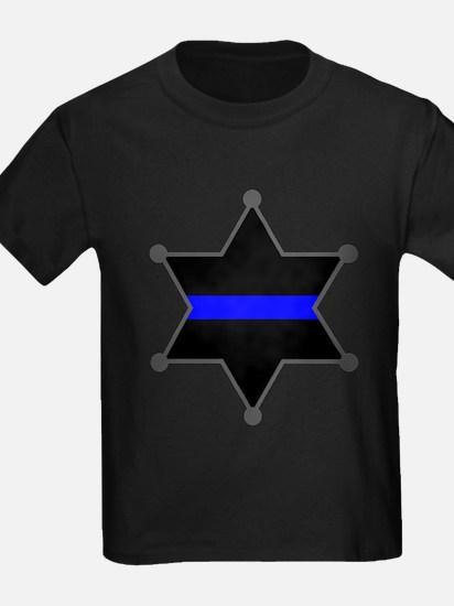Blue Line Badge 2 T-Shirt