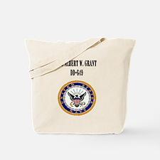 USS ALBERT W. GRANT Tote Bag