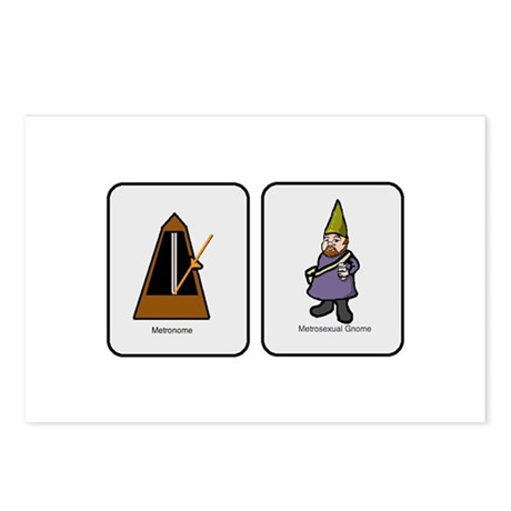 Metro Gnome Postcards (Package of 8)