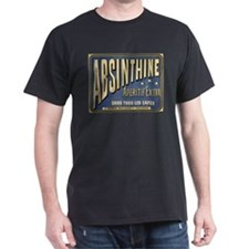 Absinthine Black T-Shirt