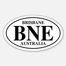 BNE Brisbane Oval Stickers