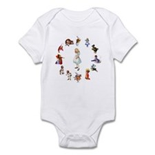AROUND ALICE Infant Bodysuit