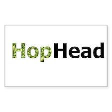 Hops HopHead Rectangle Decal