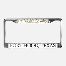 1st bn 8th cav License Plate Frame