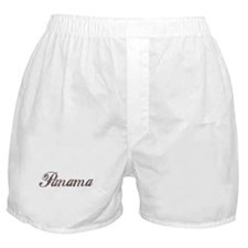 Vintage Panama Boxer Shorts