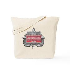 MILTON FRIEDMAN ON CIVILIZATI Tote Bag
