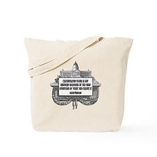 MILTON FRIEDMAN ON CONCENTRAT Tote Bag