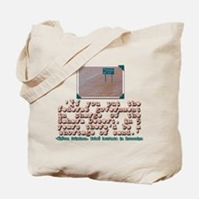 MILTON FRIEDMAN ON GOVERNMENT Tote Bag