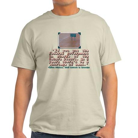MILTON FRIEDMAN ON GOVERNMENT Light T-Shirt