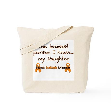 Orange Daughter Brave Tote Bag