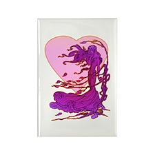 Valentine Fairy Rectangle Magnet