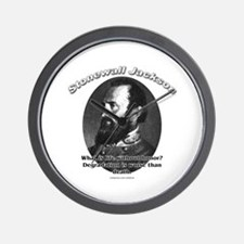 Stonewall Jackson 01 Wall Clock